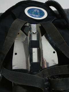 Halcyon Dive System Stainless Steel Backplate