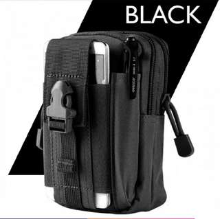 Military Tactical Bag / Pouch (Black)