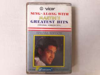 Sing-Along With Martin's Greatest Hits Multiplex Cassette Tape