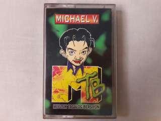 "Michael V. ""MTB Miyusik Tagalog Bersiyon"" Cassette Tape"