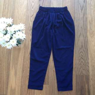 Navy Country Road Pants - Size 10