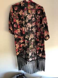 MINKPINK floral kimono