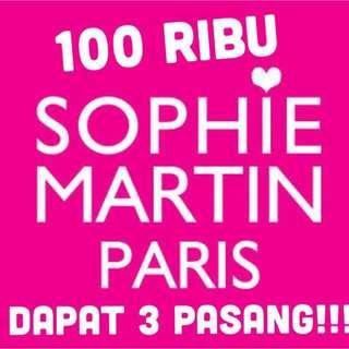100rb/3 pasang sophie martin
