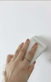 925 silver diamond ring