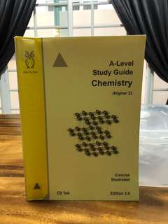 CS Toh - A Level Study Guide Chemistry - Concise Illustrated (higher 2) Edition 3.0
