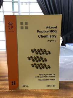CS Toh - A Level Practice MCQ Chemistry (Higher 2) Edition 2.0