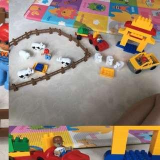 Lego Duplo compatible farm set
