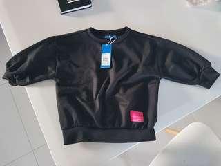 Adidas sweater boys kids children black