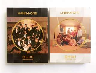 SEALED WANNA ONE I PROMISE YOU