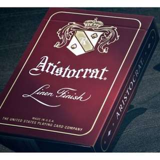Aristocrat (Red) Playing Cards