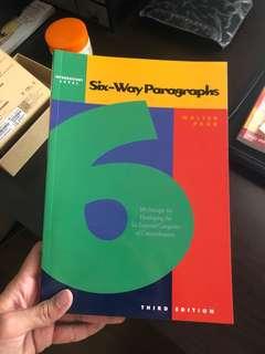 Six way paragraphs