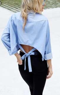 Hartley Cropped Shirt