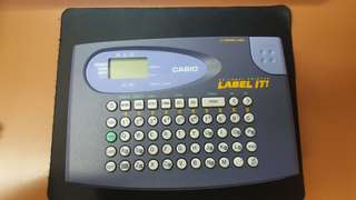 Casio Home Label Printer 英文標籤機