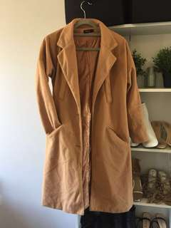 TAN WINTER COAT