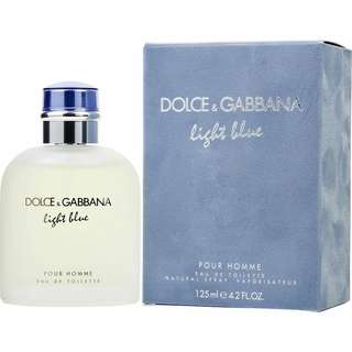 DOLCE AND GABBANA FOR MEN