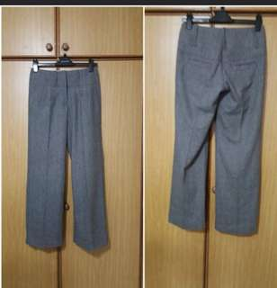 Long ladies straight cut pant grey  Used in mint condition