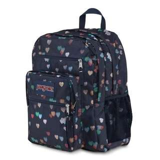 Jansport Navy Heart Student Backpack