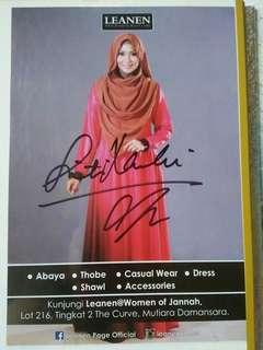 Siti Nordiana's Original Signature Flyer