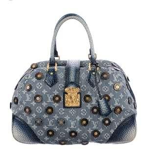 Louis Vuitton Bowly Polka Dots Navy#Good Deal#