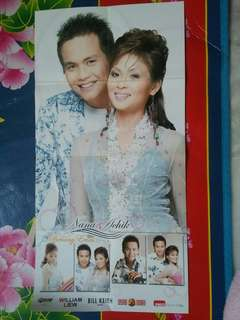 Achik Nana Duet Benang Emas Poster