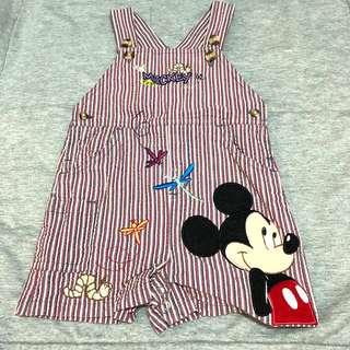 迪士尼米奇吊帶包pat褲