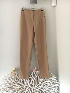 Bardot Tan/Nude High Waisted Pant Trousers Size 6