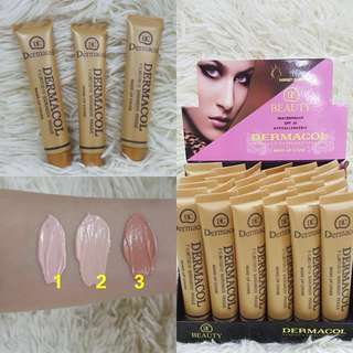 24PCS - DERMACOL BEAUTY MAKEUP COVER