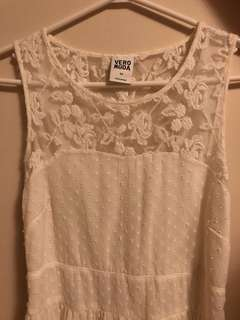 VERO MODA White Dress (Size S)