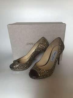 全新Jimmy Choo Luna Pumps 晚裝 婚鞋 37 原價$6xxx