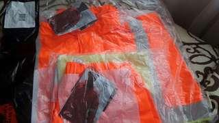 Original red wing jaket pengaman