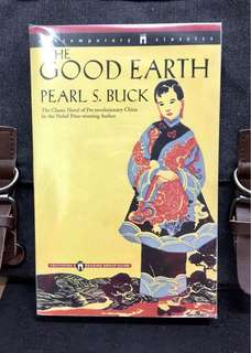 # Novel《New Book Condition + Nobel Prize Winner & Epic Pulitzer-Winning Novel Of Pre-Revolutionary China》Pearl. S. Buck - THE GOOD EARTH