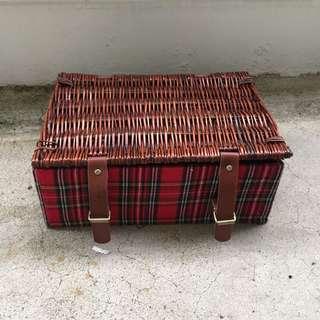 Picnic Basket (rattan) - reserved