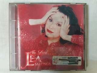 "Lea Salonga ""In Love... ©1998"" Original CD"