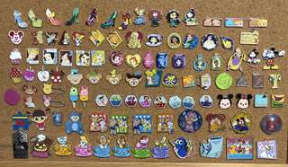 Disney pin trade 迪士尼 徽章交換