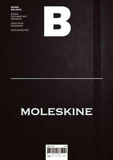 """Magazine B"" issue 62 about Moleskine"