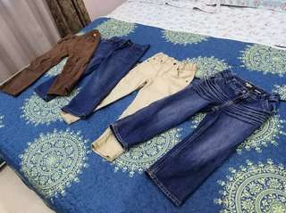Long Pants for boys 4 to 5 yrs old