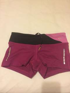 """Nike pink epic run 2.5"""" New without tags size XS"""