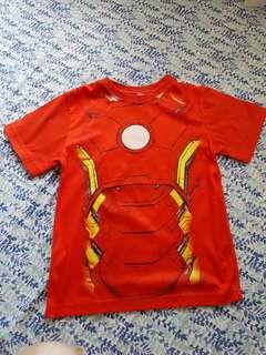 Iron man tshirt red