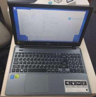 Acer Aspire E15 i5 FHD