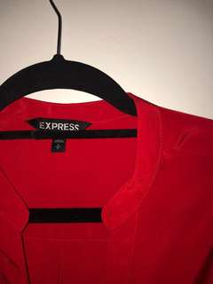 EXPRESS Red Dress with belt (Size S)