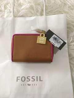 Fossil Purse mini tan