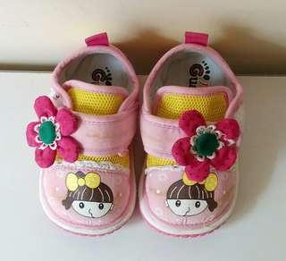 女幼童學步鞋