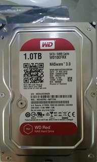 WD NAS harddisk 1GB