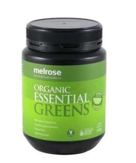 Melrose Organic essential Greens power