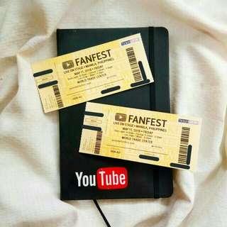 YTFF 2018 TICKETS (YouTube Fan Fest 2018 Tickets)