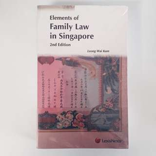 Elements of Family Law in Singapore (2nd Edition)