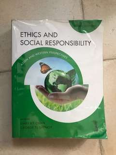 Ethics and Social Responsibility third edition