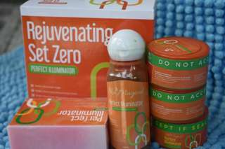 Rejuvenating set zero for teens and pregnant