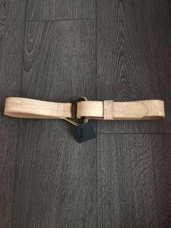 NEW Club Monaco Leather Belt Size Small
