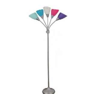 Brand New Mainstays 5 Light Floor Lamp
